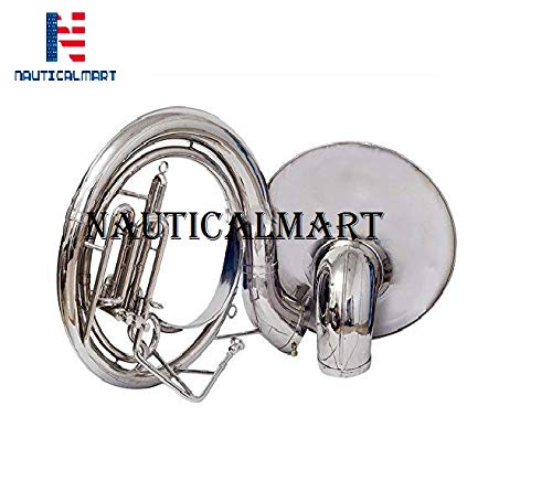 Sousaphone Bb Big Bell 25″ Nickel