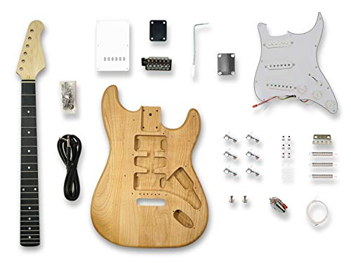 DIY Electric Guitar Kits for Stratcaster Electric Guitar, American Alder Body,