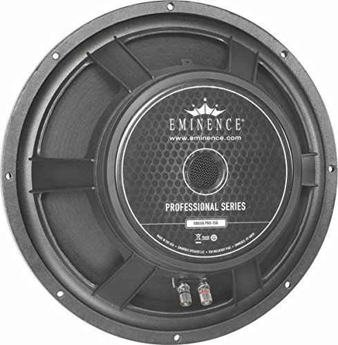 Eminence Professional Series Omega Pro 15A 15″ Pro Audio Speaker, 800 Watts at 8 Ohms