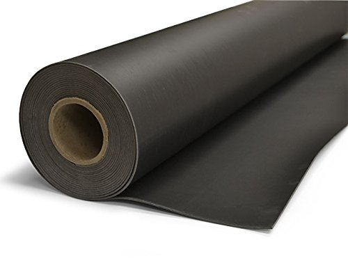 TMS Mass Loaded Vinyl, 4′ x 25′ (100 sf) 1 Lb MLV Soundproofing Barrier. Highest Quality! Made in the USA