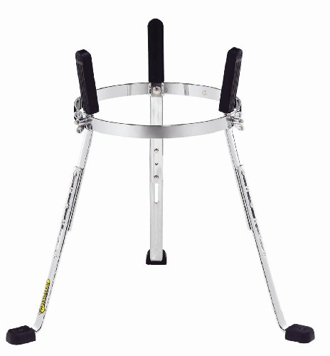 Meinl Percussion ST-FL12CH Steely II Chrome Plated Height Adjustable Stand for 12-Inch MEINL Floatune Series Congas