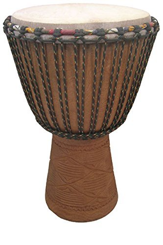Professional Djembe Drum From Mali – 14″x25″ Over Size – Africa Heartwood Project
