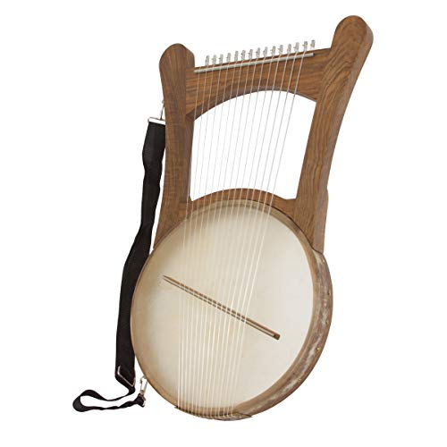 King David Nevel Harp – Walnut
