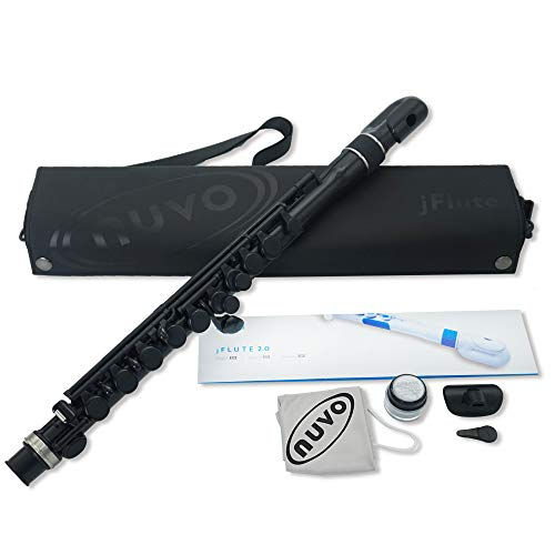 NUVO Nouveau Plastic Wind Instrument Fully Waterproof Flute C Style JFlute [Domestic Genuine Product]