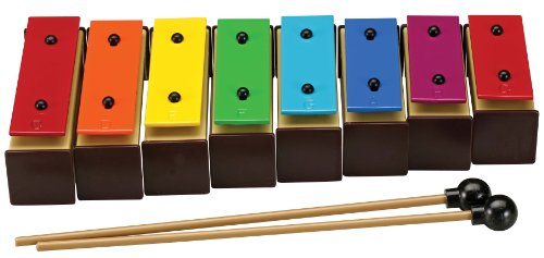 Musical Instrument Corporation TB-3 8-Note Color Coded Tone Bell Set