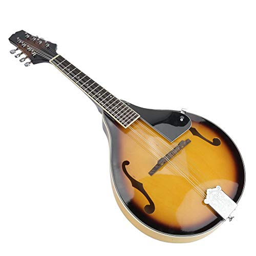 Mandolin 8-String Mandolin Wooden Mandolin 20 Frets Mandolin Sunburst Mandolin Musical Instrument Traditional Mandolin Acoustic Mandolin Mandola Mandolin Music Wood Mandolin