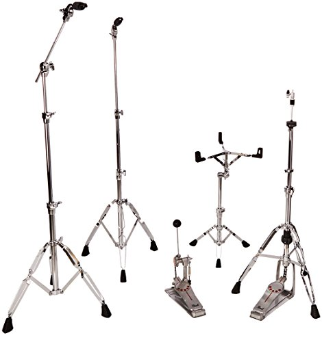 Pearl HWP930 930 Hardware Pack with Cymbal Tilter, Pipe Joint and Double Braced Legs