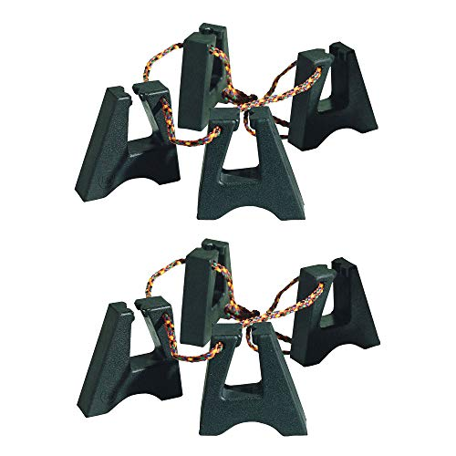 LP Rubber Conga Feet 2 Pack Bundle