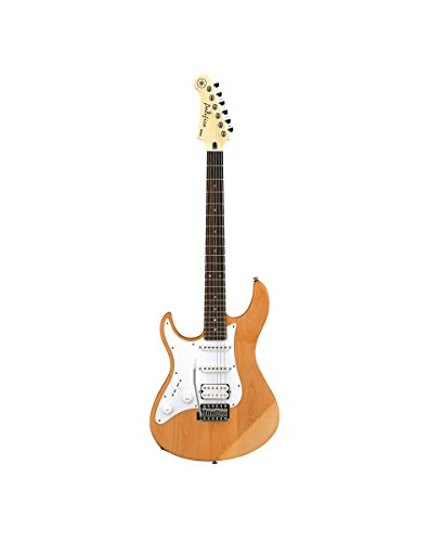 Yamaha Pacifica PAC112JL YNS Left-Handed Electric Guitar, Yellow Natural Satin