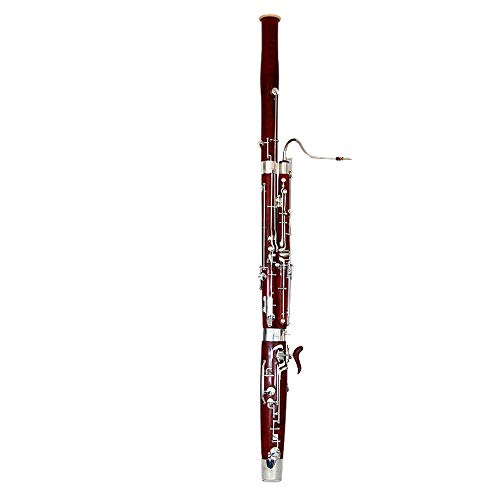 ROFFEE Professional Performance Level Adult C Tone Maple Silver Plated Bassoon