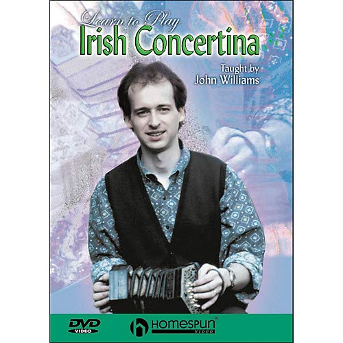 Learn To Play Irish Concertina (DVD) Pack of 2