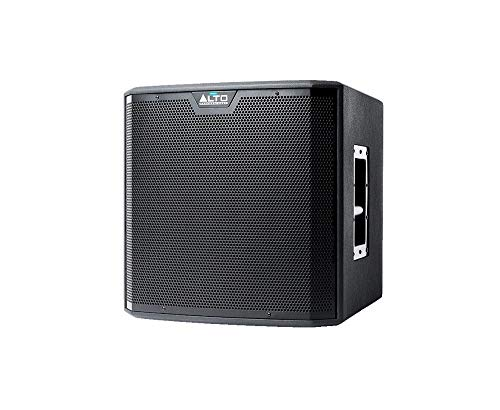 Alto Professional TS212S | 12″ Truesonic Subwoofer with Quiet, Fanless Cooling (1250W Peak Class D Power / 42-100Hz)