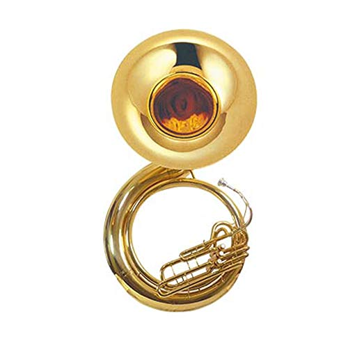 Bb Tone Brass Gold Lacquer Body Sousaphone