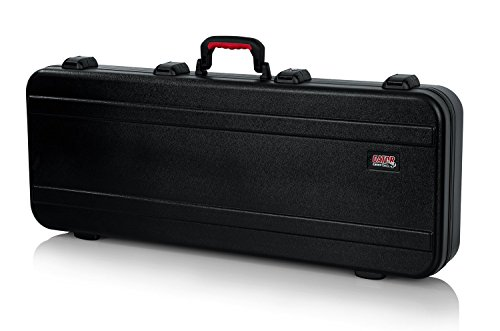 Gator Cases Molded Flight Case for 49-Note Keyboards with TSA Approved Locking Latches and Recessed Wheels; (GTSA-KEY49)