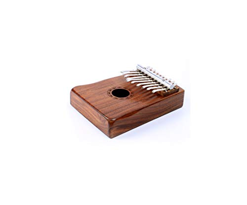 RROWER Professional Finger Thumb Piano Marimba Musical Gift 17 Key Thumb Piano Solid Finger Piano Music Lover Beginners