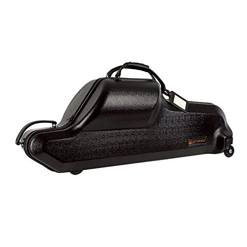 Protec Baritone Saxophone Case (Bb and Low A), ABS Shell Protection, Zip Series (BLT311CT