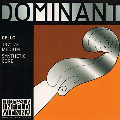 Thomastik Dominant 1/2 Cello String Set Medium Gauge
