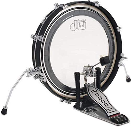 DW Design Series Maple Pancake Bass Drum – 20″ – Black Satin