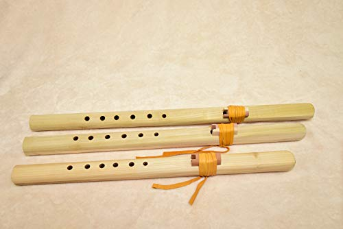 Windpony Unfinished Poplar Flute set – A, G and F#
