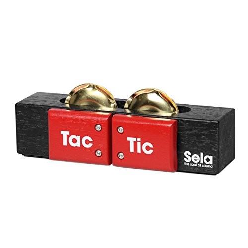Sela SE 055 Tac Tic 3-in-1 Multi-Percussion Tool for Cajon, Conga, Djembe, Hang Drum